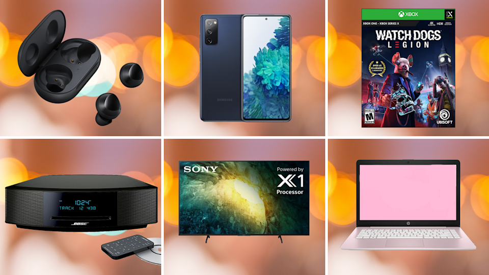 On Cyber Monday, all the world's a tech sale: Save on Sony, Samsung, Apple, Microsoft and so much more. (Photo: Yahoo Life)