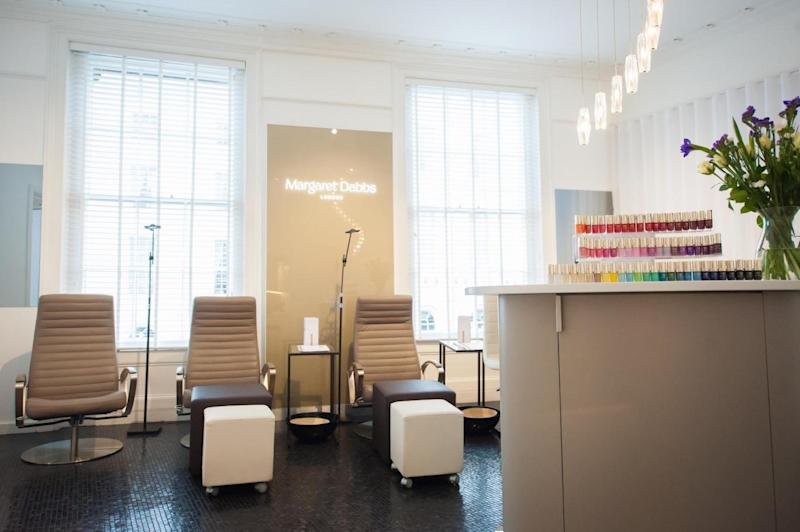 Margaret Dabbs Salon in Liberty London