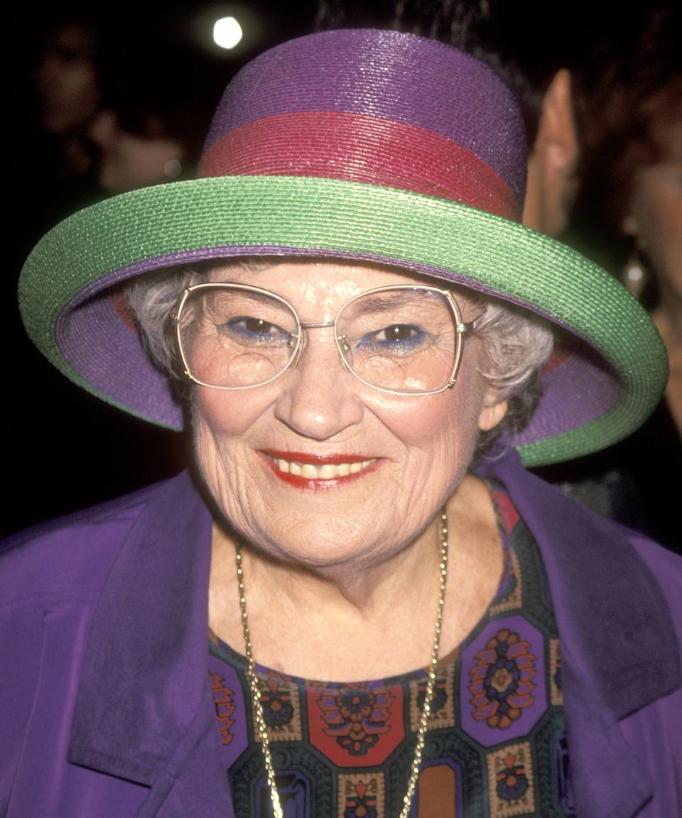 """<strong><h2><h2>Bella Abzug</h2></h2></strong><br>Bella Abzug was nicknamed """"Battling Bella,"""" which referenced her spirit and the many battles she fought. Her politics were <a href=""""https://www.refinery29.com/en-us/2020/04/9664064/mrs-america-actors-characters-in-real-life"""" rel=""""nofollow noopener"""" target=""""_blank"""" data-ylk=""""slk:considered radical at the time"""" class=""""link rapid-noclick-resp"""">considered radical at the time</a>. She was an American lawyer born and raised in The Bronx, New York, a member of Congress, an activist and one of the early leaders of the Women's Movement. Early on in her life, after graduating law school, Abzug joined a labor law firm that <a href=""""https://www.nytimes.com/1998/04/01/nyregion/bella-abzug-77-congresswoman-and-a-founding-feminist-is-dead.html"""" rel=""""nofollow noopener"""" target=""""_blank"""" data-ylk=""""slk:represented union locals"""" class=""""link rapid-noclick-resp"""">represented union locals</a>, and constantly fought for marginalized people's rights in New York.<br> <br>In 1971, Abzug joined other American feminist leaders including Gloria Steinem, Shirley Chisholm, and Betty Friedan to found <a href=""""https://www.nwpc.org/history/"""" rel=""""nofollow noopener"""" target=""""_blank"""" data-ylk=""""slk:the National Women's Political Caucus"""" class=""""link rapid-noclick-resp"""">the National Women's Political Caucus</a>. In addition to being the first woman in Congress, when she ran for office, she ran on an antiwar and pro–feminist platform. During her time in Congress, she cast her first vote for the Equal Rights Amendment, and brought more than six billion dollars to New York State in economic development and mass transit, including ramps for people with disabilities and buses for the elderly. Her work is now being <a href=""""https://www.refinery29.com/en-us/2020/04/9664064/mrs-america-actors-characters-in-real-life"""" rel=""""nofollow noopener"""" target=""""_blank"""" data-ylk=""""slk:memorialized in Hulu's"""" class=""""link rapid-noclick-resp"""">memorialized in Hulu's </a><em><a href=""""ht"""