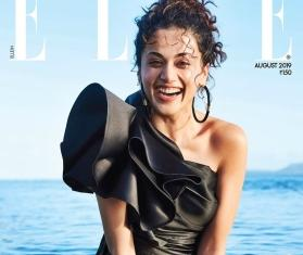 Taapsee Pannu exudes charm as she slays in a black gown on magazine cover