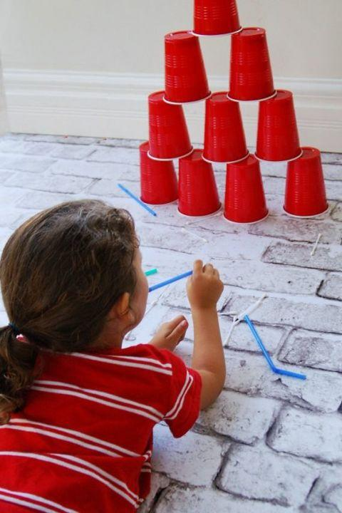 22 fun indoor activities for kids that will cure cabin fever for Indoor crafts for kids