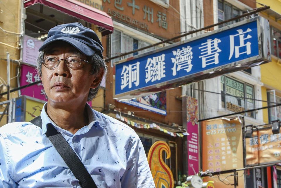 Lam Wing-kee, pictured in Hong Kong in 2018, moved to Taiwan after an extradition bill was introduced. Photo: Edmond So