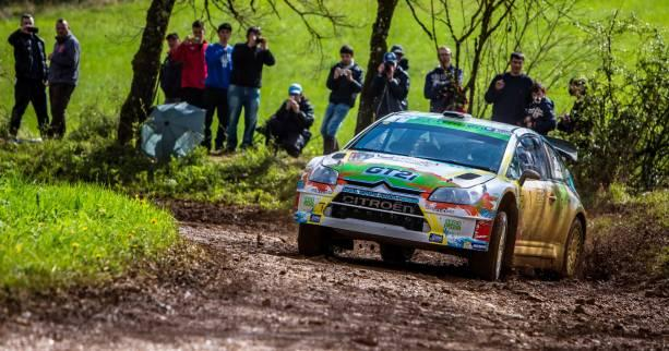 Rallye - ChF (terre) - Causses - Cuoq solide leader