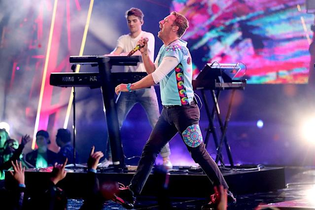 "<p>This song, which reached No. 3, was the Chainsmokers' fifth top 10 hit; Coldplay's fourth. The Chainsmokers' ""Closer"" was the No. 2 bestseller of 2016. Coldplay's ""Viva La Vida"" was No. 5 for 2008. <a href=""https://www.youtube.com/watch?v=FM7MFYoylVs"" rel=""nofollow noopener"" target=""_blank"" data-ylk=""slk:LISTEN HERE"" class=""link rapid-noclick-resp""><strong>LISTEN HERE</strong></a>.<br>(Photo: Christopher Polk/Getty Images for iHeartMedia) </p>"