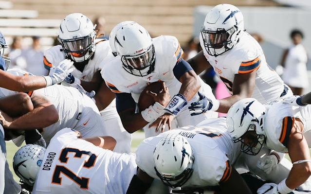 UTEP won its first game since 2016 on Saturday. (Getty)