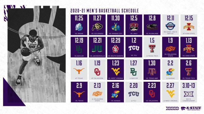 K-State hoops schedule announced
