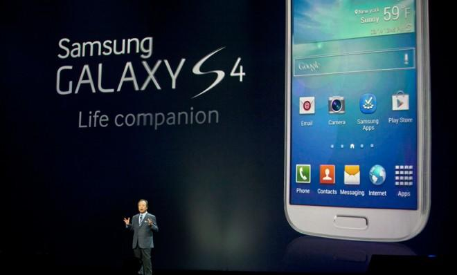 Samsung isn't following the trend set by popes and Super Bowls, opting to drop the roman numerals from the name of its new flagship phone, the Galaxy S4.