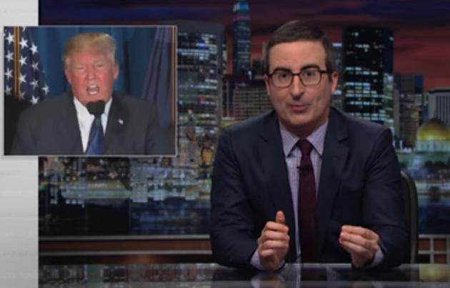 John Oliver Calls 'Turbo Bulls**t' On Trump's Comey Claims