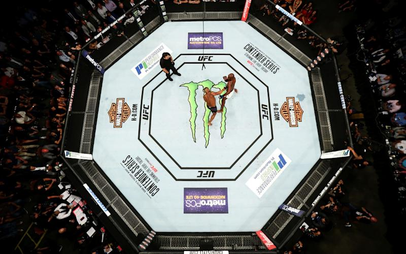 Free Tickets for UFC 216 Given to Las Vegas 1st Responders