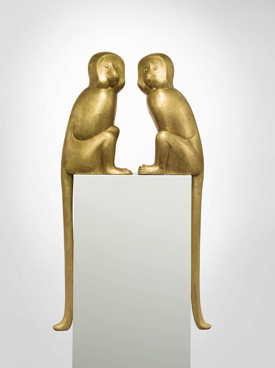 "<div class=""caption""> The Lalanne monkeys. </div> <cite class=""credit"">Photo: Courtesy of Sotheby's</cite>"