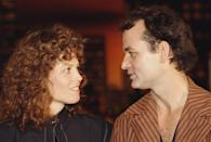 <p>Sigourney Weaver and Bill Murray attend the premiere of the movie <em>Ghostbusters</em>, directed and produced by Ivan Reitman in 1974.</p>