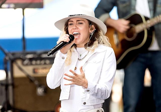 "<p>This ballad, which has climbed as high as No. 10, has a mellow summer vibe. It's the sound of contentment. Cyrus's edgy ""We Can't Stop"" was the No. 4 Song of the Summer for 2013. Current Hot 100 ranking: No. 18. <a href=""https://www.youtube.com/watch?v=8j9zMok6two"" rel=""nofollow noopener"" target=""_blank"" data-ylk=""slk:LISTEN HERE"" class=""link rapid-noclick-resp""><strong>LISTEN HERE</strong></a><br>(Photo: Gilbert Carrasquillo/FilmMagic) </p>"