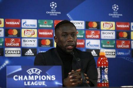 Manchester City's Bacary Sagna during the press conference