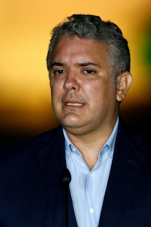 Colombian President Ivan Duque, pictured in November 2020, led a failed bid to modify the peace accords in 2018 to secure harsher penalties for former FARC fighters