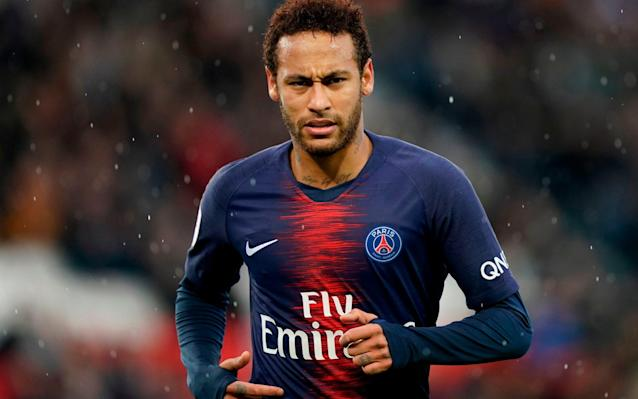 Analysis of Neymar's performances says he is only playing at 60 per cent of his capacity - AFP