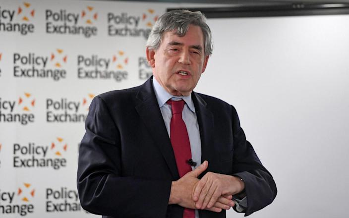 Gordon Brown said former prime ministers 'must never be lobbying for commercial purposes', with a ban of at least five years - PA