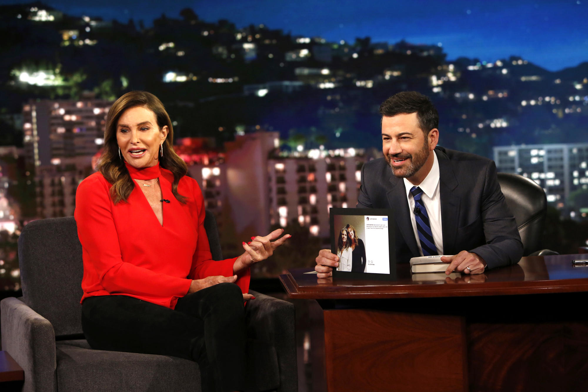 Jimmy Kimmel calls Caitlyn Jenner 'ignorant' for homeless comments in Hannity interview