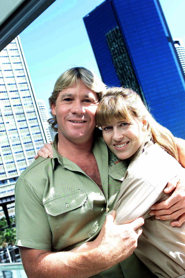 Terri Irwin hasn't dated anyone since husband Steve died 11 years ago. (Photo: Getty Images)