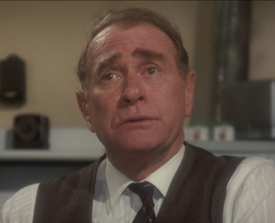 """<p>Best known for his prolific TV career, <strong>Darren McGavin</strong> got his start on Broadway appearing in <a href=""""https://www.imdb.com/name/nm0569000/bio"""" rel=""""nofollow noopener"""" target=""""_blank"""" data-ylk=""""slk:critically acclaimed productions"""" class=""""link rapid-noclick-resp"""">critically acclaimed productions</a>, including <em>Death of a Salesman</em>, <em>The Rainmaker</em>, and <em>The King and I</em>. He then transitioned to title characters in hit series like <em><a href=""""https://www.amazon.com/Mike-Hammer-Private-Eye/dp/B01IODLV0C?tag=syn-yahoo-20&ascsubtag=%5Bartid%7C2164.g.35017104%5Bsrc%7Cyahoo-us"""" rel=""""nofollow noopener"""" target=""""_blank"""" data-ylk=""""slk:Mike Hammer"""" class=""""link rapid-noclick-resp"""">Mike Hammer</a></em>, <a href=""""https://www.amazon.com/Kolchak-Night-Stalker-Season-1/dp/B000X2FVA4?tag=syn-yahoo-20&ascsubtag=%5Bartid%7C2164.g.35017104%5Bsrc%7Cyahoo-us"""" rel=""""nofollow noopener"""" target=""""_blank"""" data-ylk=""""slk:Kolchak: The Night Stalker"""" class=""""link rapid-noclick-resp""""><em>Kolchak: The Night Stalker</em></a>, and <em><a href=""""https://www.amazon.com/Riverboat-Complete-Episodes-Darren-McGavin/dp/B00769U98Q?tag=syn-yahoo-20&ascsubtag=%5Bartid%7C2164.g.35017104%5Bsrc%7Cyahoo-us"""" rel=""""nofollow noopener"""" target=""""_blank"""" data-ylk=""""slk:Riverboat"""" class=""""link rapid-noclick-resp"""">Riverboat</a></em> before playing the role of Ralphie and Randy's grumpy, not-so-handy dad, The Old Man Parker.</p>"""