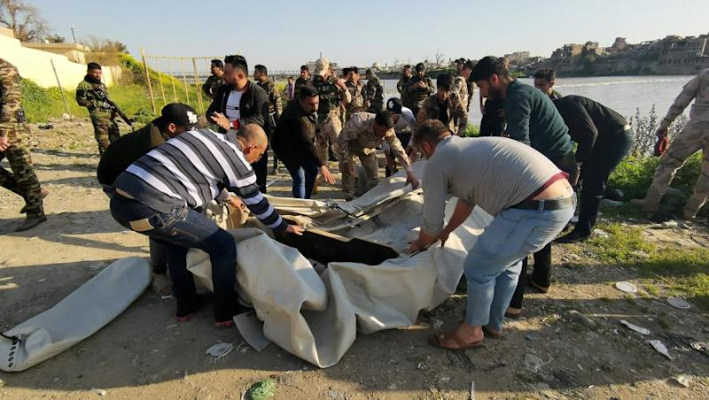 Anger, grief in Iraq's Mosul as at least 100 killed in ferry disaster