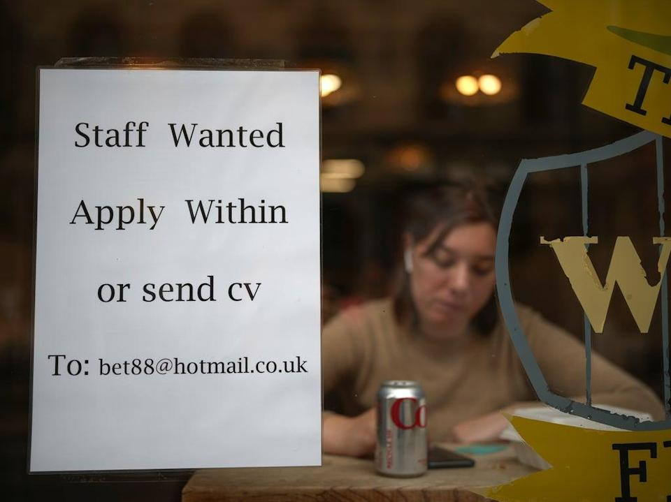 The number of job vacancies in the UK has topped one million for the first time on record (Getty)