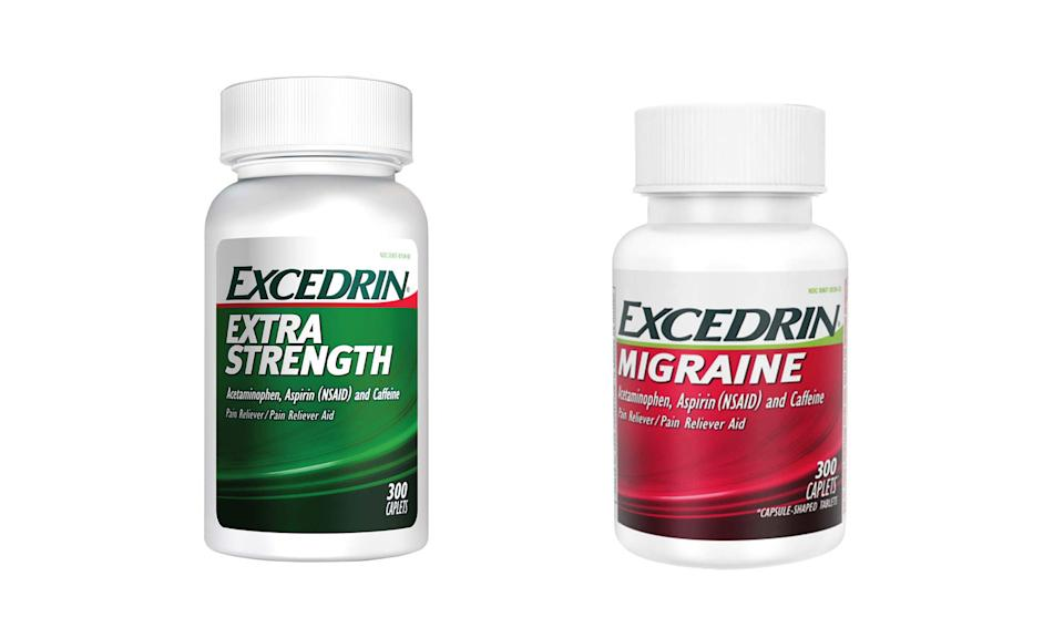 GlaxoSmithKline is halting production and distribution of the popular Excedrin Extra Strength and Excedrin Migraine (Photo: GlaxoSmithKline)