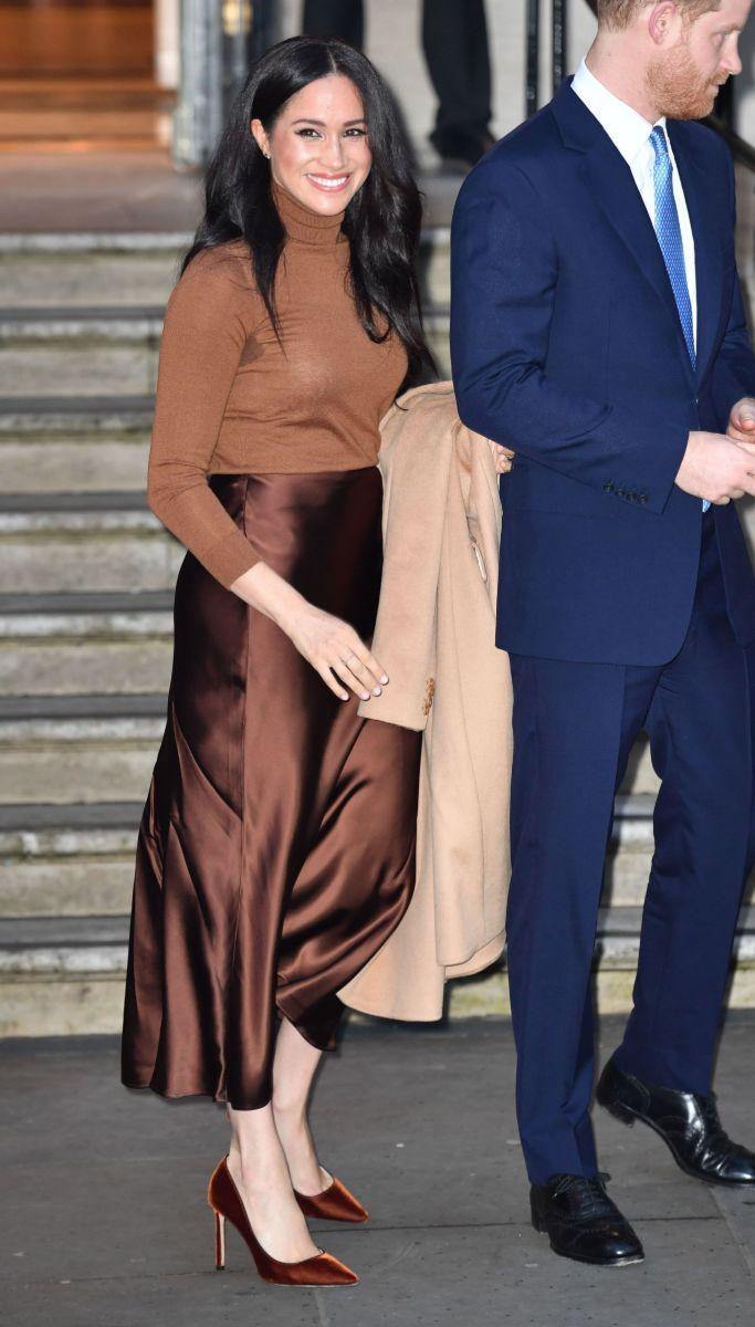 Meghan Markle coat outfit