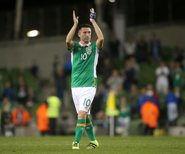 Keane capped off his final appearance for the international side with a goal