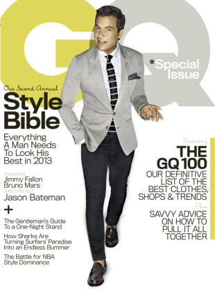 Jason Bateman on the cover of GQ's April issue