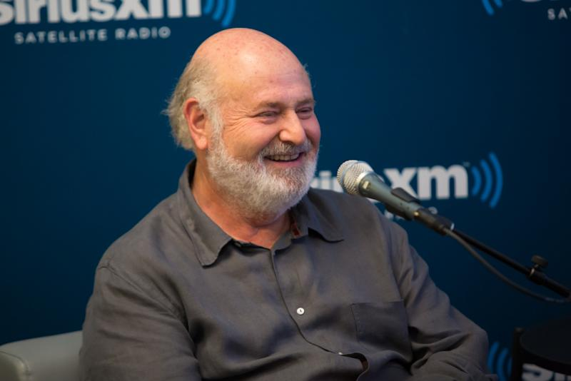 Rob Reiner at a Sirius XM Town Hall interview.