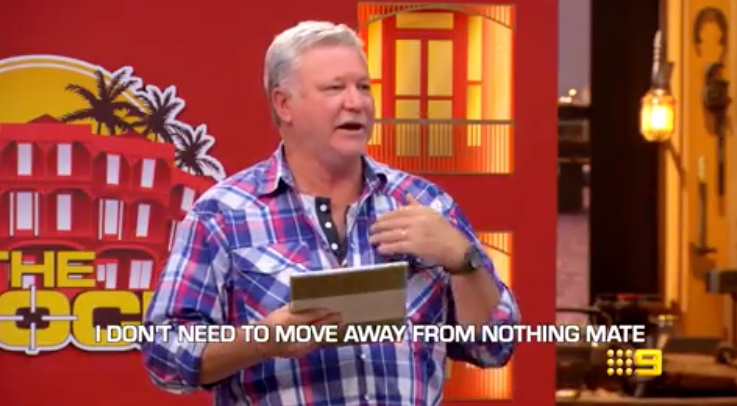 The Block host Scott Cam hits back at Mitch and Mark. Photo: Channel Nine