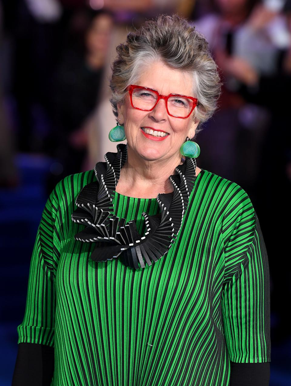Prue Leith attending the Mary Poppins Returns European Premiere held at the Royal Albert Hall, London