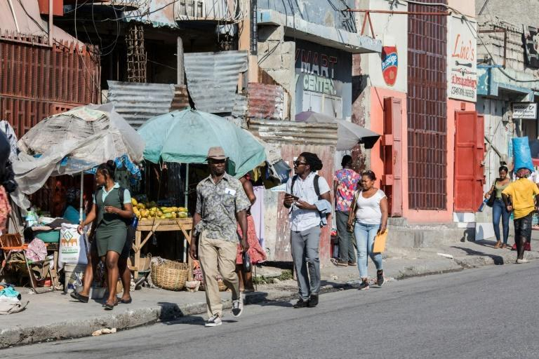 Catholicism is the dominant religion in Haiti