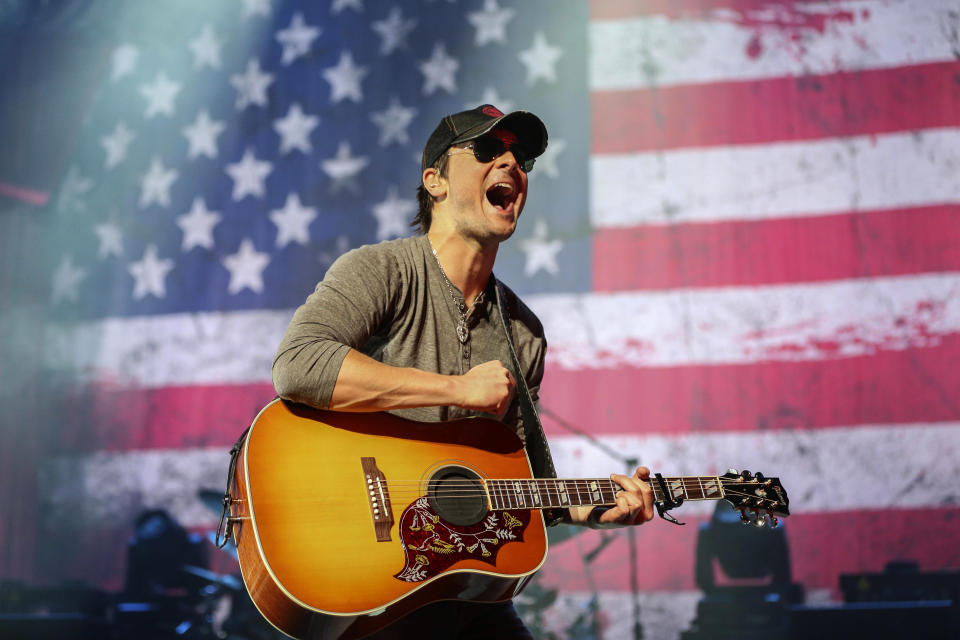 Eric Church performing at the former Nokia Theatre in L.A. on Nov. 4, 2012. (Photo: Christopher Polk/Getty Images)
