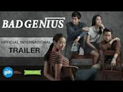 """<p>Lori Loughlin? Child's play. In <em>Bad Genius</em>, a group of highly gifted students set up a college entrance exam scam that leads to higher and higher stakes the more successful they become. The 2017 Thai heist film (more! heist! films!) has a 100 percent on Rotten Tomatoes and is critically acclaimed, so flex on your film buff friends with that.</p><p><a class=""""link rapid-noclick-resp"""" href=""""https://www.netflix.com/watch/80245442?trackId=251152991&tctx=0%2C0%2C5115fef9-1da1-476b-88e2-966efac4944f-52858526%2C3dcc52bb-10ba-49ee-8a62-f4fe7638de76_33536787X28X78104X1594908383252%2C3dcc52bb-10ba-49ee-8a62-f4fe7638de76_ROOT%2C"""" rel=""""nofollow noopener"""" target=""""_blank"""" data-ylk=""""slk:Watch Now"""">Watch Now</a></p><p><a href=""""https://www.youtube.com/watch?v=CLdhN4oMxCQ"""" rel=""""nofollow noopener"""" target=""""_blank"""" data-ylk=""""slk:See the original post on Youtube"""" class=""""link rapid-noclick-resp"""">See the original post on Youtube</a></p>"""