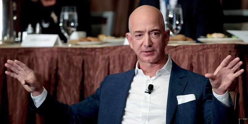jeff bezos amazon ceo blue origin