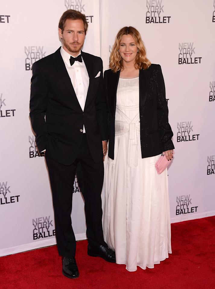 NEW YORK, NY - MAY 10:  Actor/Art Consultant Will Kopelman and actress Drew Barrymore attend New York City Ballet's 2012 Spring Gala at David H. Koch Theater, Lincoln Center on May 10, 2012 in New York City.  (Photo by Stephen Lovekin/Getty Images)