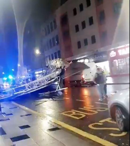 There are currently believed to be no injuries (Muhammed Faras Khan)