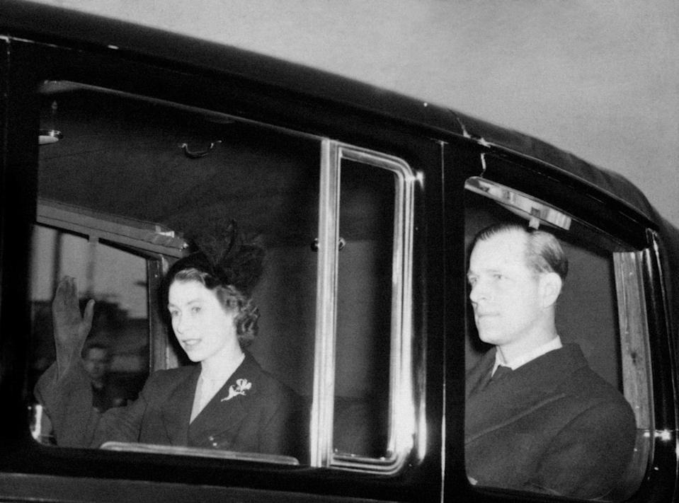 Following the death of King George VI, Elizabeth returned home to become Queen. The couple had flown back from Kenya after his passing, and Elizabeth was crowned queen in 1953.