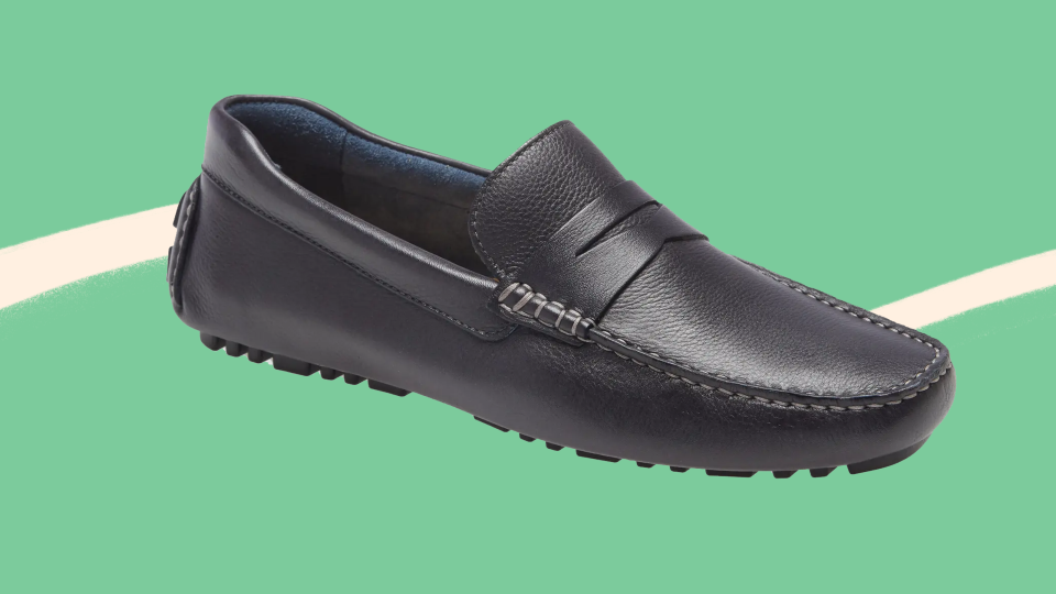 These sleek loafers are on sale at Nordstrom right now.