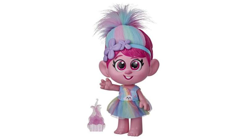 Hasbro pulls Trolls doll over concerns it promotes inappropriate touching