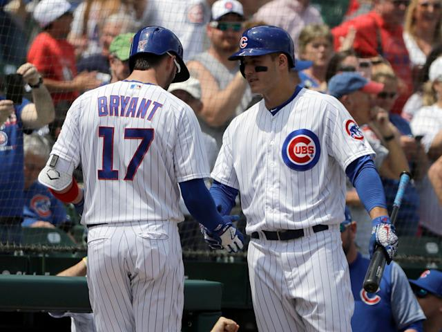 The Chicago Cubs are counting on stars like Kris Bryant and Anthony Rizzo to take them back to playoffs. (AP Photo/Nam Y. Huh)