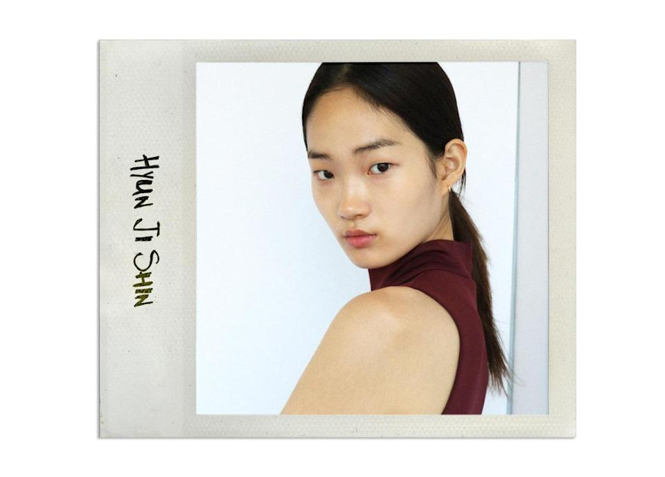 """<p>The Korean beauty has started with a bang, walking for the likes of 3.1 Phillip Lim, Tome, and Public School. With over 18k Instagram followers, she certainly has the world's attention. <br><br>Agency: <a rel=""""nofollow noopener"""" href=""""http://www.imgmodels.com/new-york/development/model?mid=7106"""" target=""""_blank"""" data-ylk=""""slk:IMG"""" class=""""link rapid-noclick-resp"""">IMG</a> <br>Instagram: <a rel=""""nofollow noopener"""" href=""""https://instagram.com/iamhyunjishin/?hl=en"""" target=""""_blank"""" data-ylk=""""slk:@iamhyunjishin"""" class=""""link rapid-noclick-resp"""">@iamhyunjishin</a><br>Cutest Internet Moment: <a rel=""""nofollow noopener"""" href=""""https://instagram.com/p/6-bQgmF5oC/?taken-by=iamhyunjishin"""" target=""""_blank"""" data-ylk=""""slk:This gif of all of her looks from a W Korea shoot"""" class=""""link rapid-noclick-resp"""">This gif of all of her looks from a W Korea shoot</a></p>"""