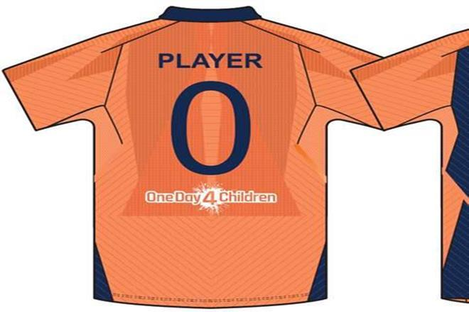 BCCI unveils India's new orange jersey