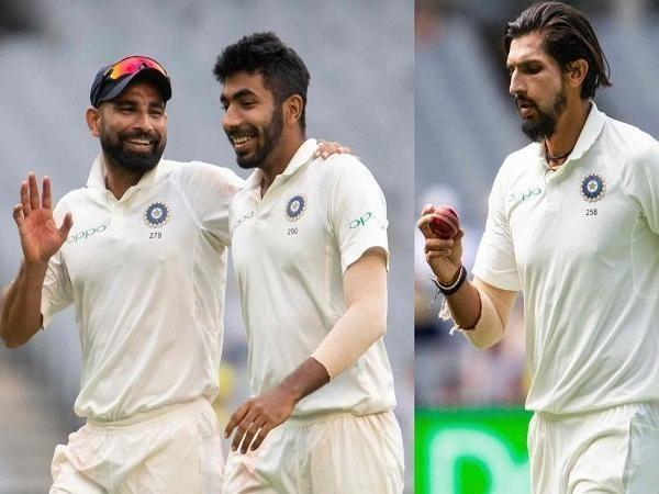 The Indian fast bowling trio has broken a 34 years old record