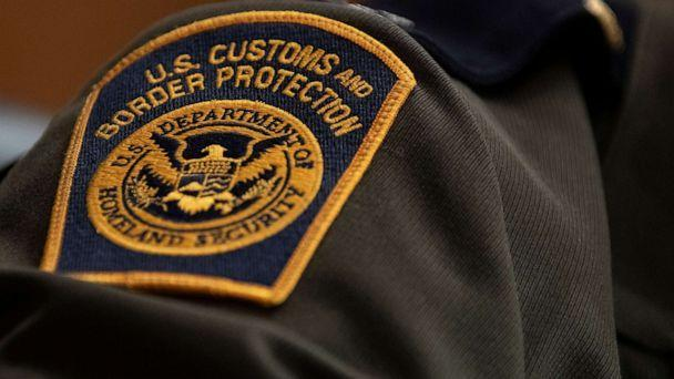 PHOTO: In this April 9, 2019, file photo, taken in Washington D.C., a U.S. Customs and Border Protection patch is shown on the uniform of a patrol agent for the U.S. Border Patrol. (Alex Edelman/Getty Images, FILE)