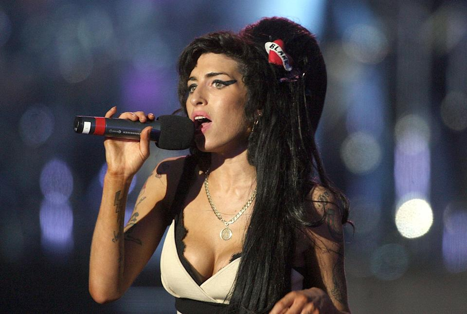 Amy tragically passed away in 2011. Copyright: [Getty]