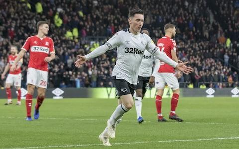 <span>Harry Wilson has scored a number of fine goals for Derby this season</span> <span>Credit: Action Plus </span>