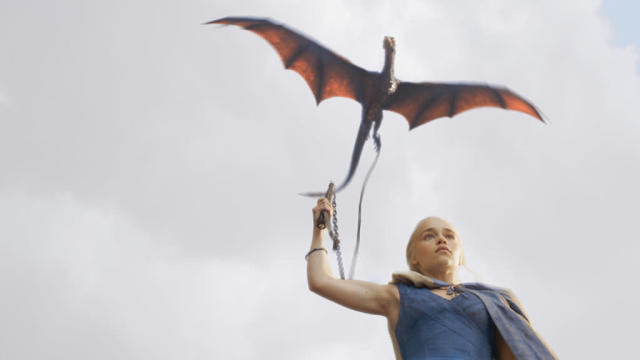 """Emilia Clarke in the """"Game of Thrones"""" Season 3 episode, """"And Now His Watch Is Ended."""""""