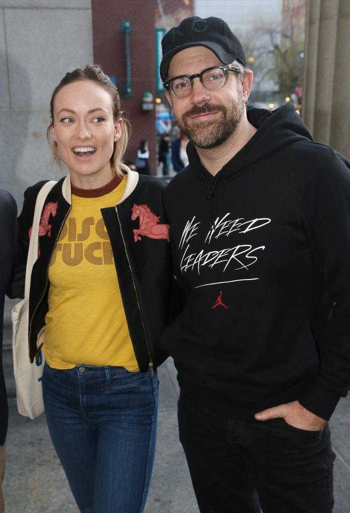 Olivia Wilde and Jason Sudeikis.